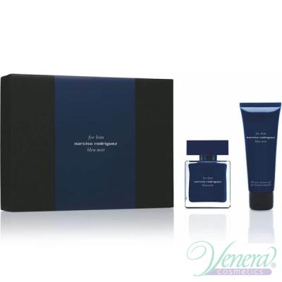 Narciso Rodriguez for Him Bleu Noir Комплект (EDT 50ml + SG 75ml) за Мъже