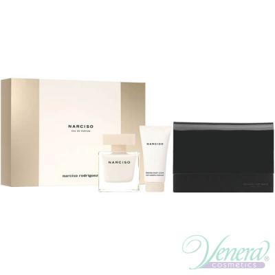 Narciso Rodriguez Narciso Комплект (EDP 50ml + BL 50ml + Bag) за Жени Дамски Комплекти
