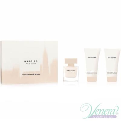Narciso Rodriguez Narciso Комплект (EDP 50ml + BL 50ml + SG 50ml) за Жени Дамски Комплекти
