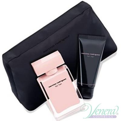 Narciso Rodriguez for Her Комплект (EDP 50ml + Hand Cream 75ml +Bag) за Жени Дамски Парфюми