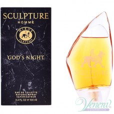Nikos Sculpture Homme God's Night EDT 100ml за Мъже
