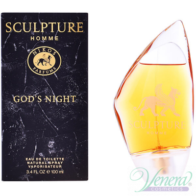 Nikos Sculpture Homme God's Night EDT 50ml за Мъже Мъжки Парфюми