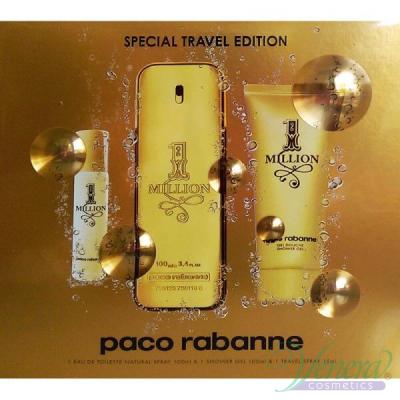 Paco Rabanne 1 Million Комплект (EDT 100ml + EDT 15ml + Shower Gel 100ml) за Мъже