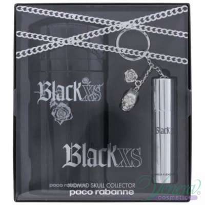 Paco Rabanne Black XS Комплект (EDT 100ml + EDT 10ml) Nomad Skull за Мъже