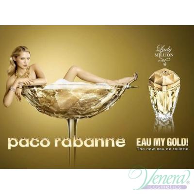 Paco Rabanne Lady Million Eau My Gold! EDT 80ml за Жени