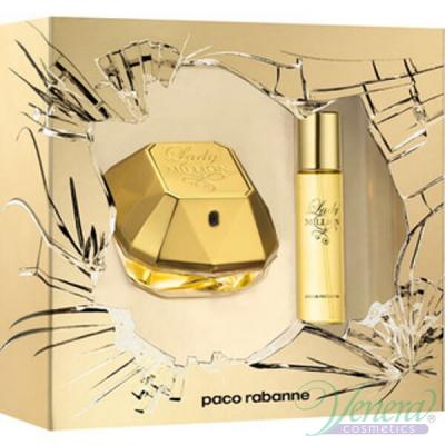 Paco Rabanne Lady Million Комплект (EDP 50ml + EDP 15ml) за Жени За Жени