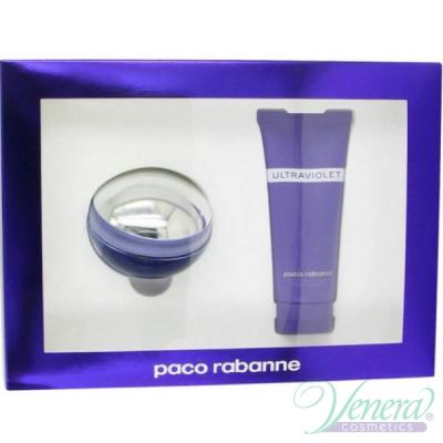 Paco Rabanne Ultraviolet Комплект (EDT 80ml + Body Lotion 100ml) за Жени