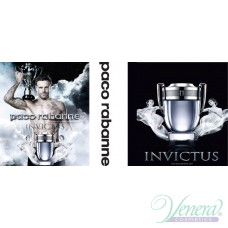 Paco Rabanne Invictus Комплект (EDT 100ml + AS Balm 100ml + Deo Stick 75ml) за Мъже