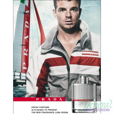 Prada Luna Rossa EDT 100ml for Men Without Package Men's