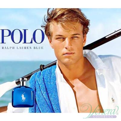 Ralph Lauren Polo Blue EDT 125ml за Мъже БЕЗ ОПАКОВКА За Мъже
