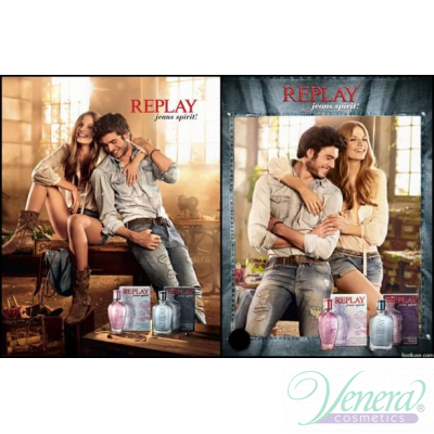 Replay Jeans Spirit! For Her EDT 20ml за Жени Дамски Парфюми