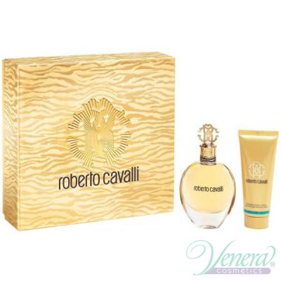 Roberto Cavalli Eau De Parfum Комплект (EDP 30ml + Body Lotion 75ml) за Жени За Жени