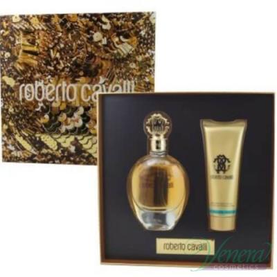 Roberto Cavalli Eau De Parfum Комплект (EDP 75ml + Body Lotion 75ml) за Жени За Жени