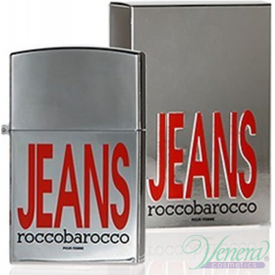 Roccobarocco Jeans Pour Femme EDT 75ml за Жени Дамски Парфюми