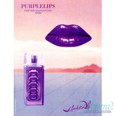 Salvador Dali Purple Lips EDT 30ml за Жени