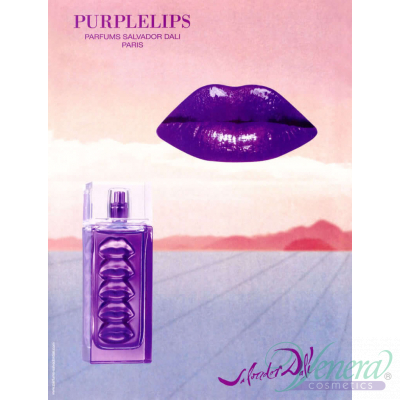 Salvador Dali Purple Lips EDT 30ml за Жени Дамски Парфюми