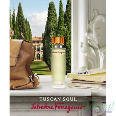 Salvatore Ferragamo Tuscan Soul Комплект (EDT 75ml + SG 40ml) EDT за Мъже и Жени За Мъже