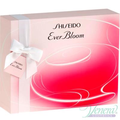 Shiseido Ever Bloom Комплект (EDP 90ml + EDP 10ml + BL 50ml) за Жени Дамски Комплекти