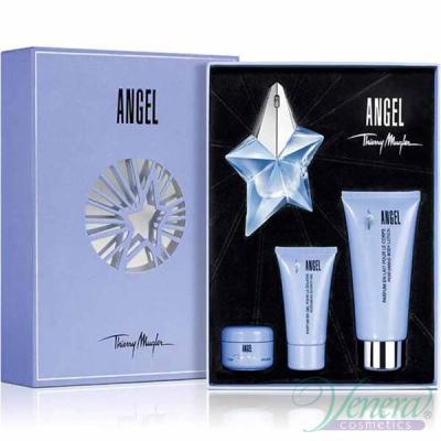 Thierry Mugler Angel Комплект (EDP 25ml + BL 100ml + SG 30ml + Body Cream 15ml) за Жени