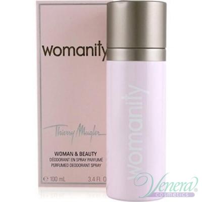 Thierry Mugler Womanity Deodorant Spray 100ml за Жени Дамски  продукти за лице и тяло