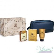 Trussardi My Land Комплект (EDT 100ml + SG 100ml + Bag) за Мъже