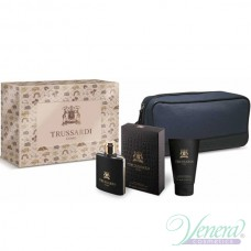 Trussardi Uomo 2011 Комплект (EDT 100ml +SG 100ml + Bag) за Мъже