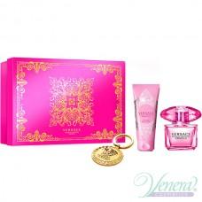 Versace Bright Crystal Absolu Комплект (EDP 90ml + BL 100ml + Ключодържател) за Жени
