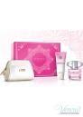 Versace Bright Crystal Комплект (EDT 90ml + BL 100ml + несесер) за Жени За Жени
