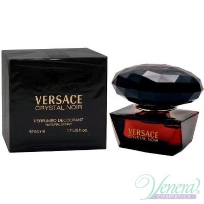 Versace Crystal Noir Perfumed Deodorant 50ml за Жени Дамски Продукти за лице и тяло