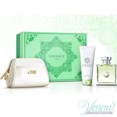 Versace Versense Комплект (EDT 100ml + BL 100ml + Bag) за Жени За Жени