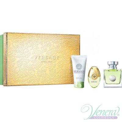 Versace Versense Комплект (EDT 50ml + EDT 10ml + BL 50ml) за Жени За Жени