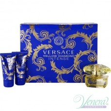 Versace Yellow Diamond Intense Комплект (EDP 50ml + BL 50ml + SG 50ml) за Жени