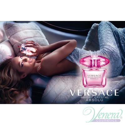 Versace Bright Crystal Absolu Комплект (EDP 90ml + EDP Roll On 10ml + SG 150ml) за Жени Дамски Комплекти