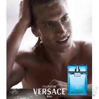 Versace Man Eau Fraiche Комплект (EDT 100ml + EDT 10ml + SG 150ml) за Мъже Мъжки Комплекти