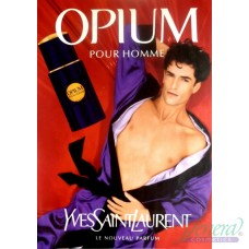 YSL Opium Pour Homme EDT 100ml за Мъже БЕЗ ОПАКОВКА