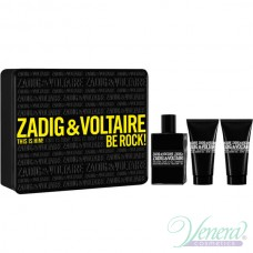 Zadig & Voltaire This is Him Комплект (EDT 50ml + SG 50ml + SG 50ml) Be Rock! за Мъже